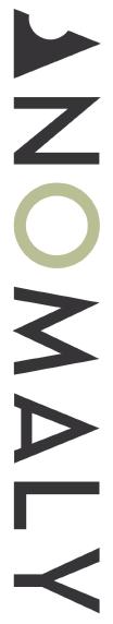 Logo for Joshua Klinger's ANOMALY